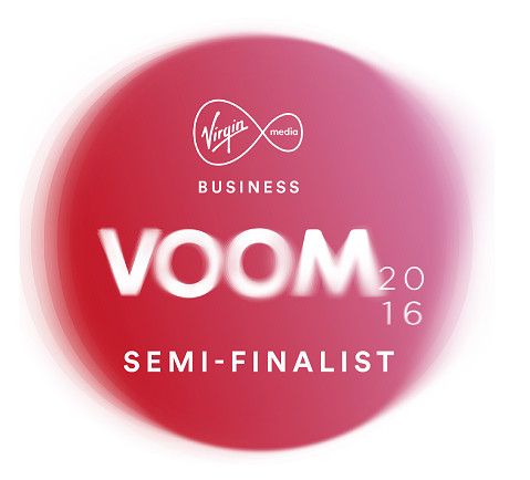 We got to the Virgin Start-Up Voom Semi-Final!