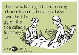 Single working Mum
