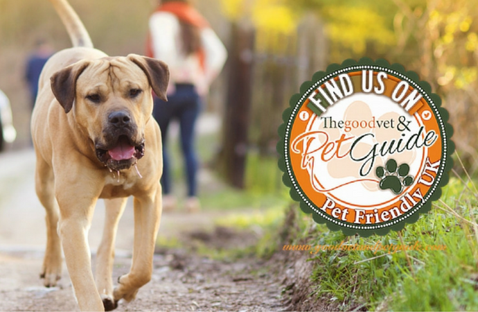 We're now listed on the Good Vet & Pet Guide