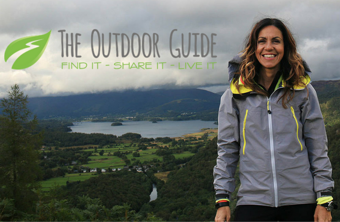 Proud to be featured in Julia Bradbury's Outdoor Guide
