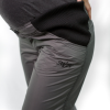 Maternity walking trousers with expandable waistline
