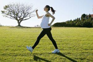walking while pregnant
