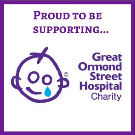 We're supporting Great Ormond Street Hospital