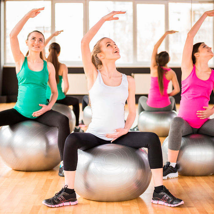 exercising whilst pregnant