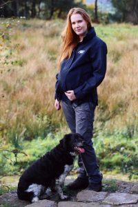 down walker with a maternity fleece