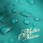 Maternity jacket green waterproof